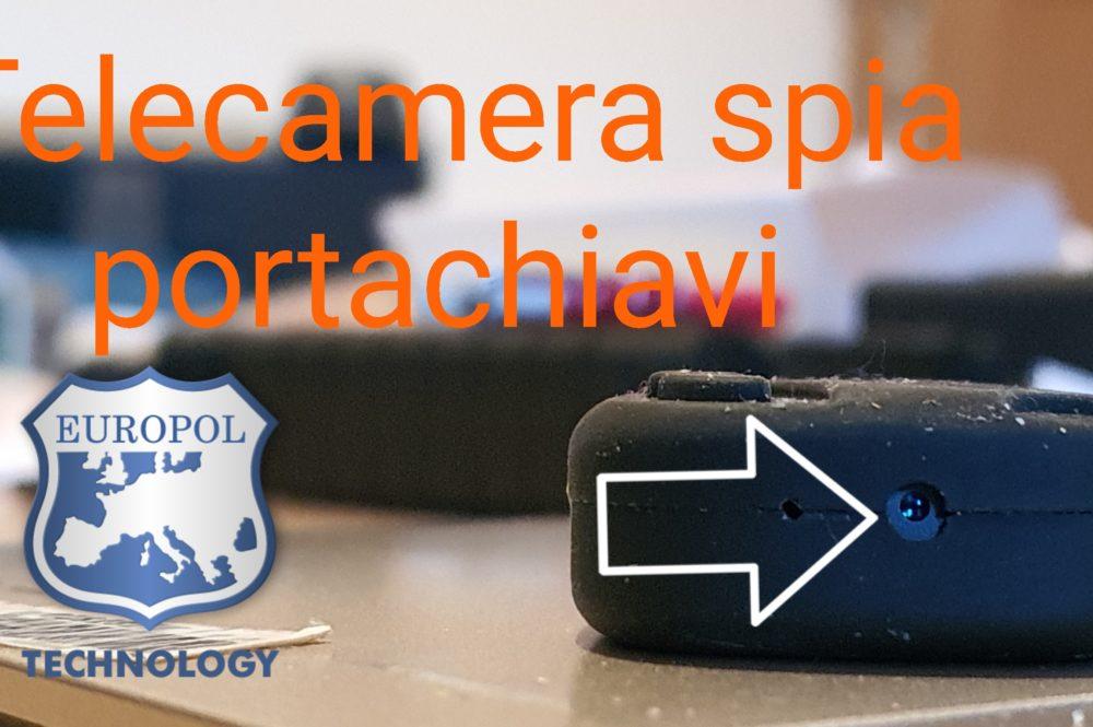 Telecamera spia portachivi